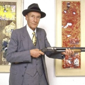 William S. Burroughs,  » Shotgun Paintings «