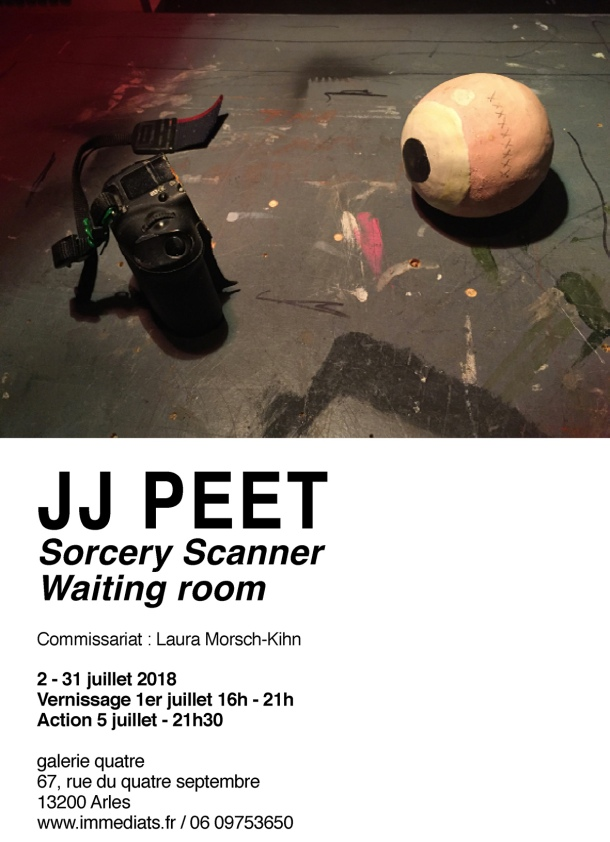 0-Savethedate JJ Peet-SorceryScanner-WaitingRoom-galeriequatre-Arles